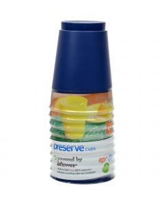 Preserve On the Go Cups - Midnight Blue - Case of 12 - 10 Packs - 16 oz