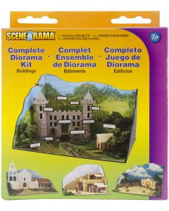 Woodland Scenics Complete Diorama Kit-Buildings
