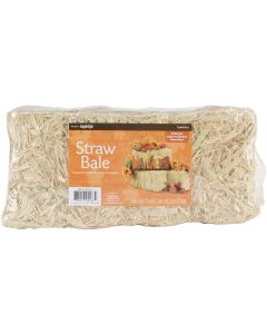 "Floracraft Straw Bale 6""X5""X13""-Natural"
