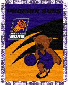 "The Northwest Company Suns 044 baby 36""x 46"" Triple Woven Jacquard Throw (NBA) - Suns 044 baby 36""x 46"" Triple Woven Jacquard Throw (NBA)"
