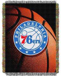 "The Northwest Company 76ers  ""Photo Real"" 48x60 Tapestry Throw"