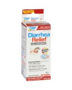 TRP Company TRP Diarrhea Relief - 50 Tablets