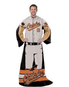 "The Northwest Company Orioles  ""Uniform"" Adult Fleece Comfy Throw"
