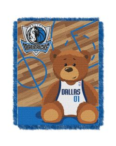 The Northwest Company Mavericks  Baby 36x46 Triple Woven Jacquard Throw - Half Court Series