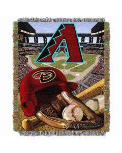 "The Northwest Company Diamondbacks  ""Home Field Advantage"" 48x60 Tapestry Throw"