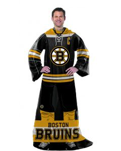 "The Northwest Company Bruins  ""Uniform"" Adult Fleece Comfy Throw"