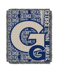 The Northwest Company Georgetown College 48x60 Triple Woven Jacquard Throw - Double Play Series