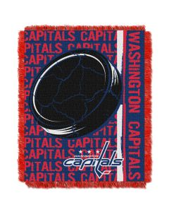 The Northwest Company Capitals  48x60 Triple Woven Jacquard Throw - Double Play Series