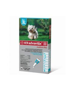 Advantix Flea and Tick Control for Dogs 10-22 lbs 4 Month Supply