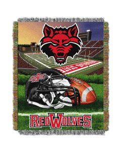 """The Northwest Company Arkansas State College """"Home Field Advantage"""" 48x60 Tapestry Throw"""