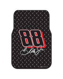 The Northwest Company Dale Earnhardt Jr. Car Floor Mat (Set of 2) (NASCAR) - Dale Earnhardt Jr. Car Floor Mat (Set of 2) (NASCAR)