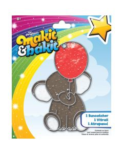 Colorbok Makit & Bakit Suncatcher Kit-Elephant
