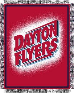 "The Northwest Company Dayton ""Focus"" 48""x60"" Triple Woven Jacquard Throw (College) - Dayton ""Focus"" 48""x60"" Triple Woven Jacquard Throw (College)"