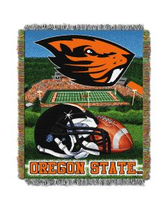 "The Northwest Company Oregon State College ""Home Field Advantage"" 48x60 Tapestry Throw"
