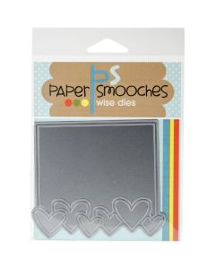 NEW! Paper Smooches Die-Heart Frame