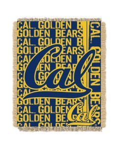 The Northwest Company California Berkeley College 48x60 Triple Woven Jacquard Throw - Double Play Series