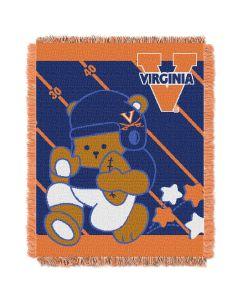 The Northwest Company Virginia  College Baby 36x46 Triple Woven Jacquard Throw - Fullback Series