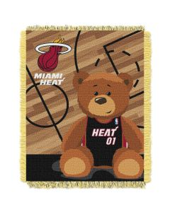 The Northwest Company Heat  Baby 36x46 Triple Woven Jacquard Throw - Half Court Series