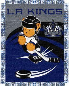 "The Northwest Company LA Kings 044 baby 36""x 46"" Triple Woven Jacquard Throw (NHL) - LA Kings 044 baby 36""x 46"" Triple Woven Jacquard Throw (NHL)"