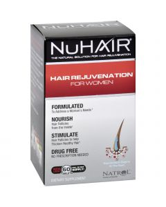 Natrol Hair Regrowth - NuHair Women - 60 Tablets