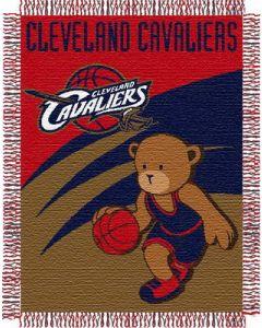 "The Northwest Company Cavaliers 044 baby 36""x 46"" Triple Woven Jacquard Throw (NBA) - Cavaliers 044 baby 36""x 46"" Triple Woven Jacquard Throw (NBA)"