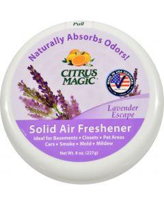 Citrus Magic Odor Absorber - Solid Lavender - Case of 6 - 8 oz