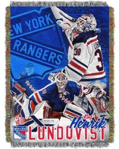 "The Northwest Company Hendrick Lundqvist  ""Players"" 48x60 Tapestry Throw"
