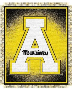 "The Northwest Company Appalachian State ""Focus"" 48""x60"" Triple Woven Jacquard Throw (College) - Appalachian State ""Focus"" 48""x60"" Triple Woven Jacquard Throw (College)"