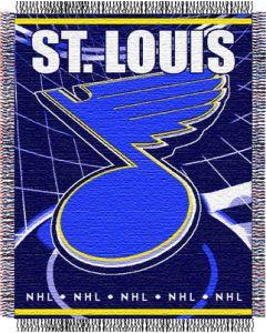 "The Northwest Company Blues 48""x 60"" Triple Woven Jacquard Throw (NHL) - Blues 48""x 60"" Triple Woven Jacquard Throw (NHL)"