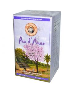Wisdom of The Ancients Wisdom Natural Pau d'Arco Herbal Tea - 25 Tea Bags