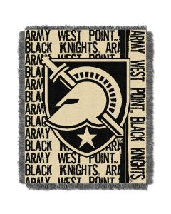 The Northwest Company Military Academy  College 48x60 Triple Woven Jacquard Throw - Double Play Series