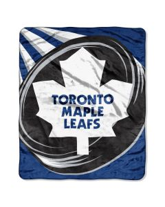 """The Northwest Company Maple Leafs 50""""x 60"""" Super Plush Throw (NHL) - Maple Leafs 50""""x 60"""" Super Plush Throw (NHL)"""