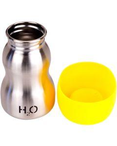 H2O4K9 Stainless Steel K9 Water Bottle 9.5oz-Liquid Sunshine