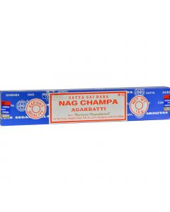 Sai Baba Nag Champa Agarbatti Incense - 15 g - Case of 12