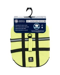 Bh Pet Gear AKC Flotation Vest-Yellow Extra Small
