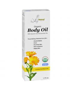 Wally's Natural Products Wallys Natural Products Body Oil - Organic - 1.7 oz