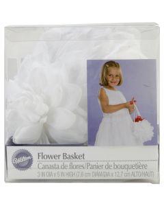 """Wilton Flower Basket 3""""X3""""X5""""-Gardenia"""