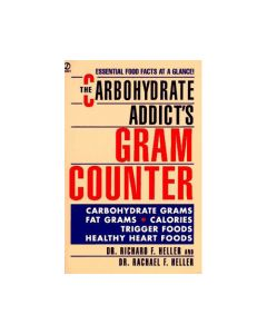 Books - All Publisher Titles Book Carbohydrate Addicts Gram Counter - 1 Book