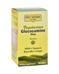 Only Natural Glucosamine - Plus - Vegetarian - 90 Tablets