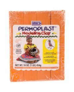 AMACO NEW! Permoplast Clay 1lb-Orange