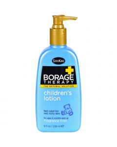 Shikai Products Shikai Borage Therapy Children's Lotion Fragrance-Free - 8 fl oz