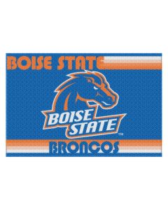 """The Northwest Company Boise State College """"Old Glory"""" 39x59 Acrylic Tufted Rug"""