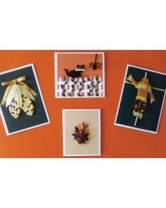 Lake City Craft Quilling Kit-Fall Greeting Card