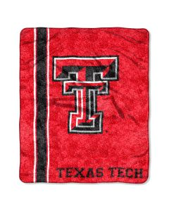 """The Northwest Company Texas Tech College """"Jersey"""" 50x60 Sherpa Throw"""