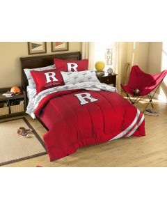The Northwest Company Rutgers Full Bed in a Bag Set (College) - Rutgers Full Bed in a Bag Set (College)