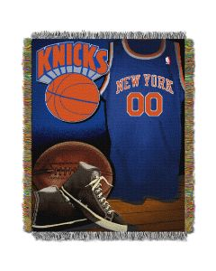 "The Northwest Company Knicks  ""Vintage"" 48x60 Tapestry Throw"