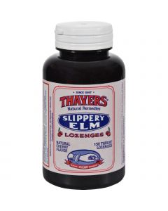 Thayers Slippery Elm Lozenges Cherry - 150 Lozenges