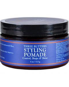 SheaMoisture Styling Pomade - Three Butters - Men - 4 oz