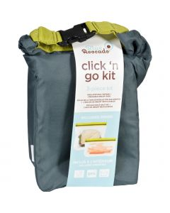 Blue Avocado Kit - Click N Go - Slate Gray - 3 Pieces