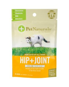 Pet Naturals of Vermont Hip + Joint Chews For Cats 30/Pkg- - Hip + Joint Chews For Cats 30/Pkg-